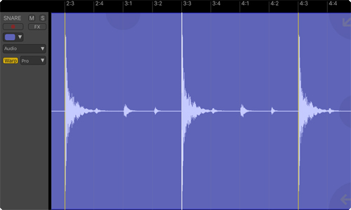 Audio Warping